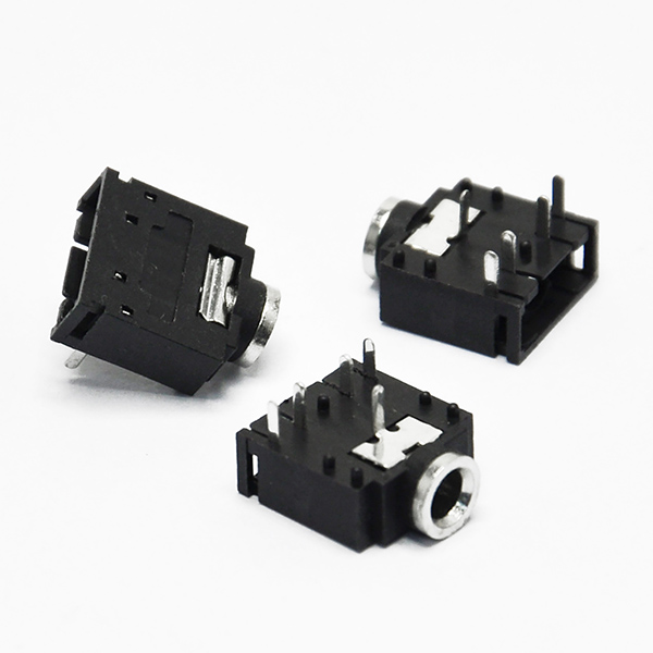 Stereo Jack Socket Binaural Audio Connector PCB Mount 3F07 3.5mm