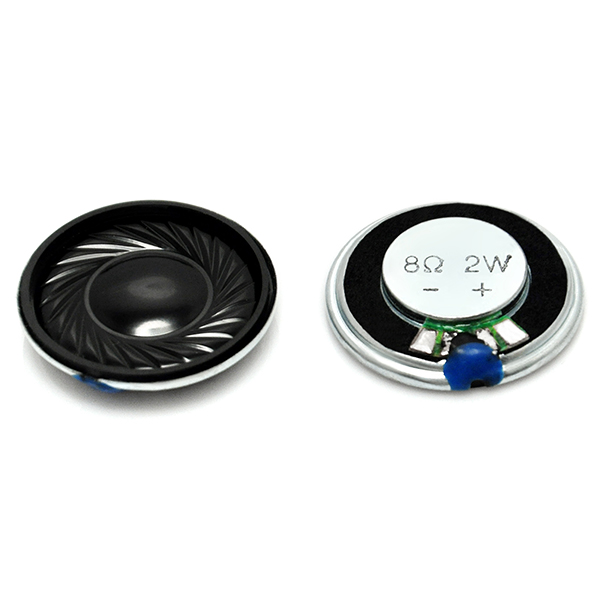 2PCS Good Round Micro Speaker Diameter 28mm 8Ohm 8R 2W
