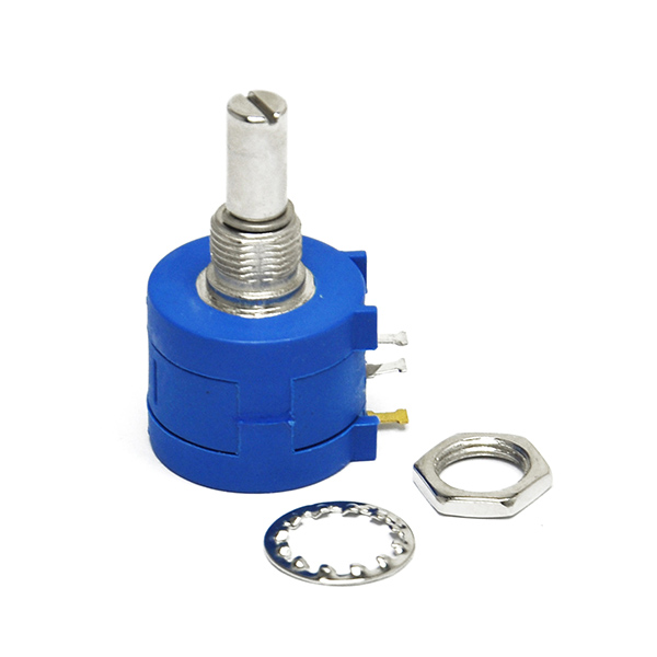 3590S-2-502L 5K Ohm Rotary Wirewound Potentiometer for Arduino