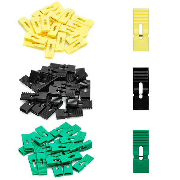 60PCS 2.54mm Circuit Board Jumper Cap Shunts Short Circuit Cap