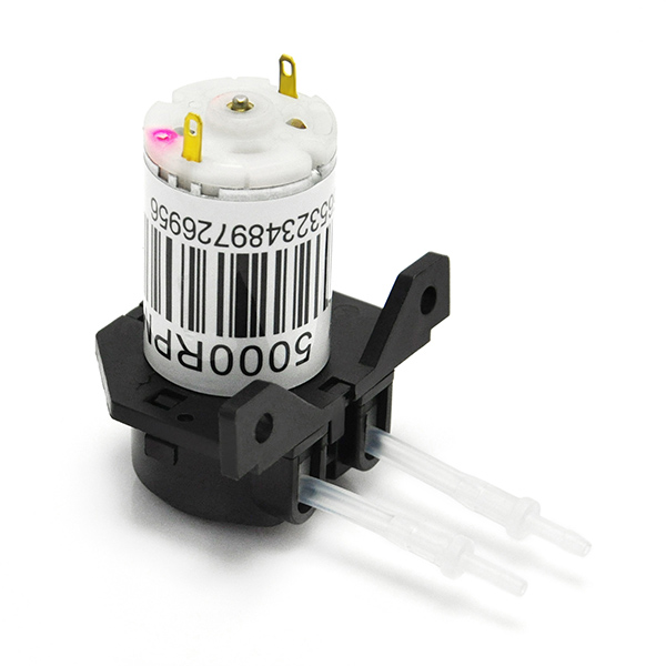 12V DC Dosing Pump Peristaltic Dosing Head with Connector