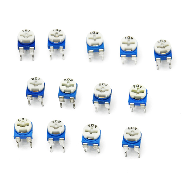 65pcs Variable Resistor Assorted Kit 13 value Potentiometer