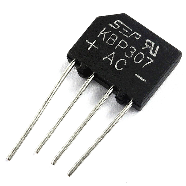 10pcs KBP307 Rectifier Flat bridge Bridge Rectifier 3A/700V