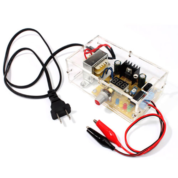 DIY LM317 1.25V-12V Adjustable Voltage Power Supply Board Kit