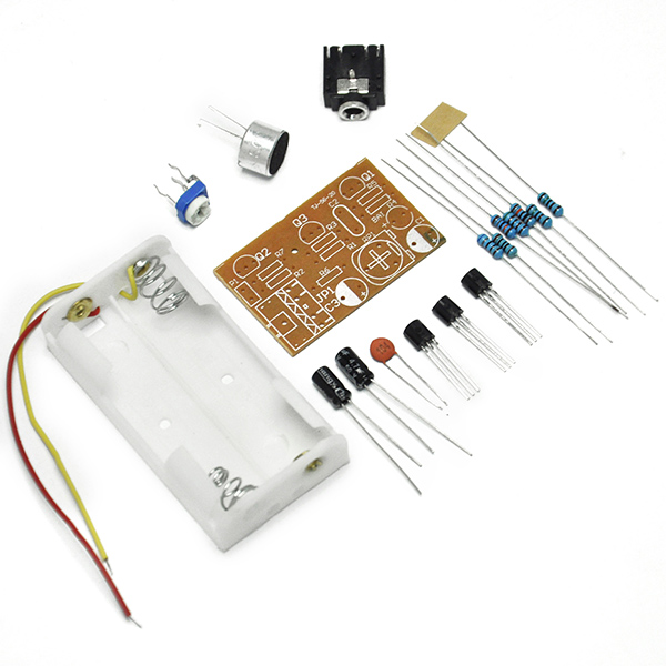Hearing Aid Suite DIY Kits Resistor Adjustable