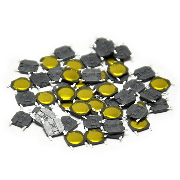 50pcs Tact Switch SMT SMD Tactile Membrane Switch Push Button