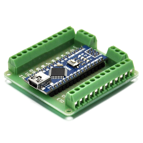 USB Nano V3.0 ATmega328 5V 16M with NANO IO Expansion Board