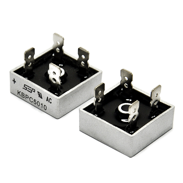 2PCS 50A 1000V Single Phases Diode Bridge Rectifier KBPC5010