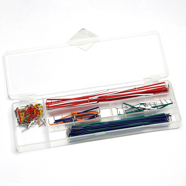 140pcs Breadboard Jumper Cable Wire Kit With Box