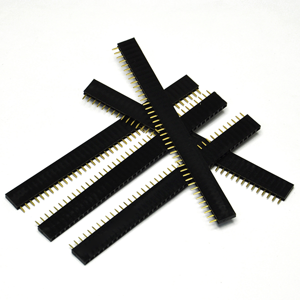 2.54 Stackable Female Header 1x40Pin 20PCS