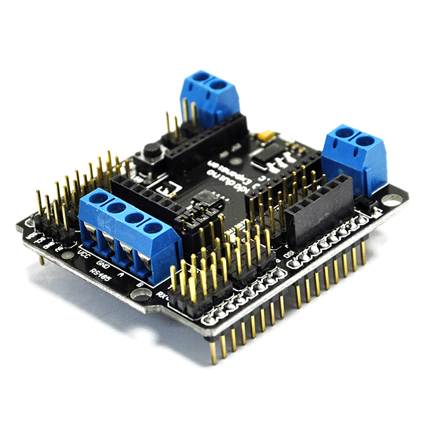 DFRobot IO ExpansionShield (V5) support xbee,SD card,RS485,PWM