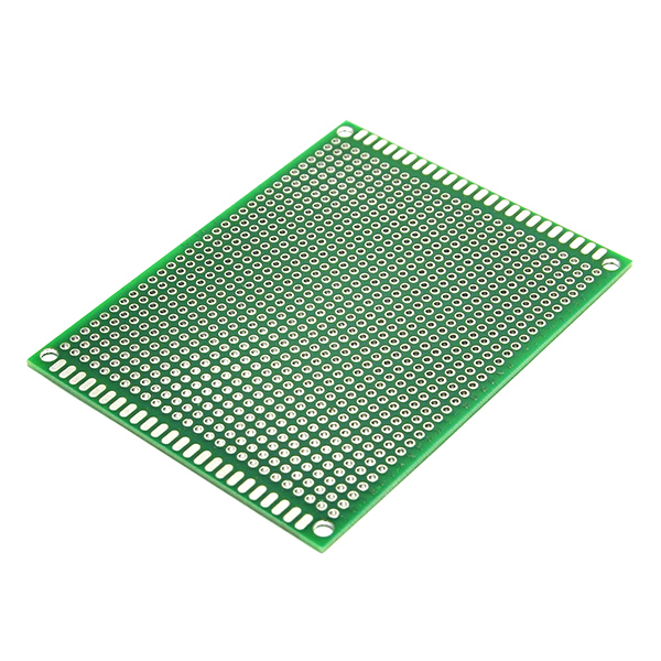 Double Side Prototype PCB Tinned Universal Breadboard 70x90mmFR4