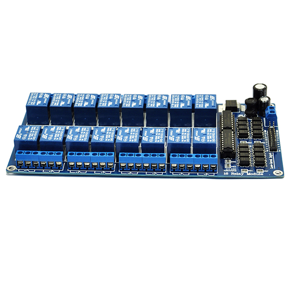 16-Channel 5V Relay Module with optocoupler