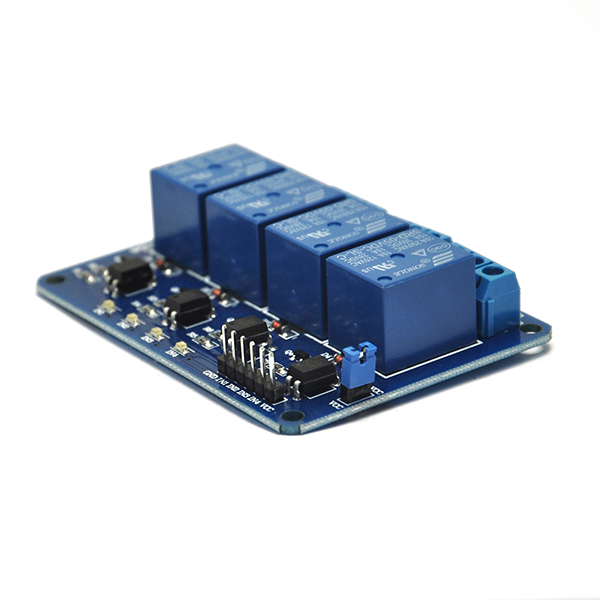 5V Four 4 Channel Relay Module With optocoupler