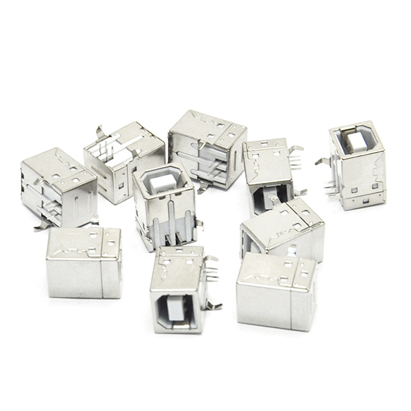 10PCS 4-Pin usb-b usb b square Female Socket Connector