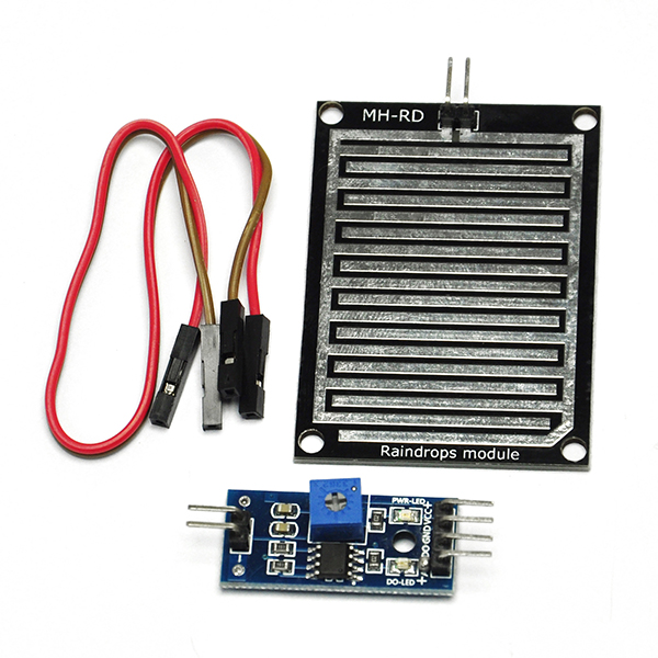 Raindrops detection sensor humidity rain weather module
