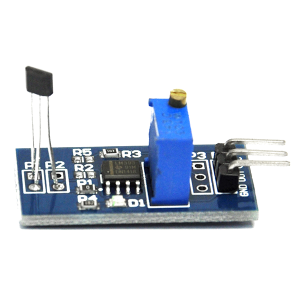 Hall switch sensor module Motor speed test For Arduino