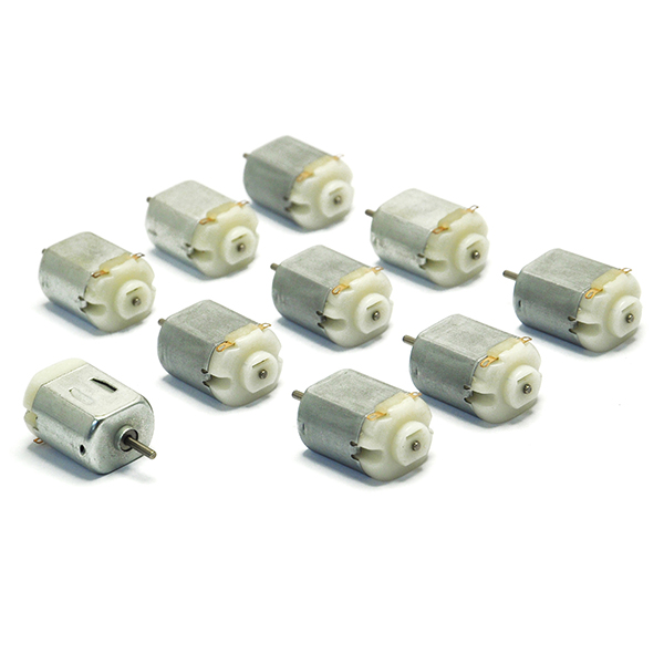 10pc DZ104 DC 3V -6V 130 Motor 2000 RPM For DIY electric