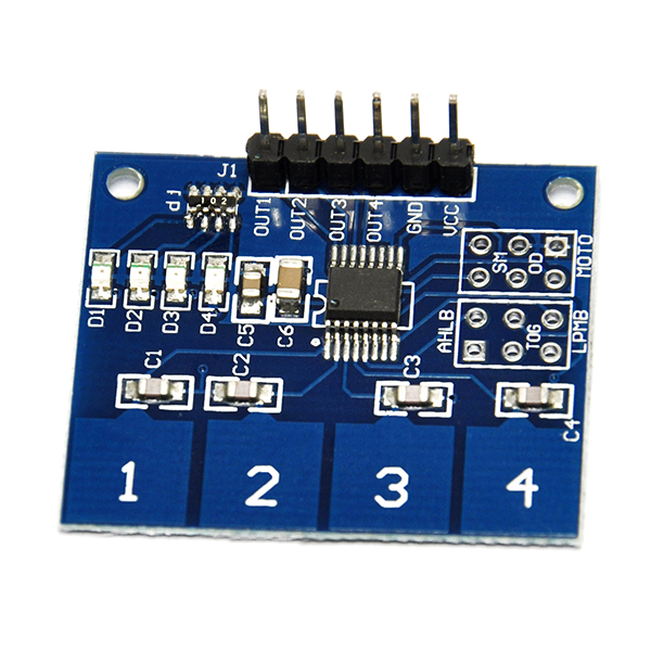 TTP224 4 channel digital touch capacitive touch switch sensor