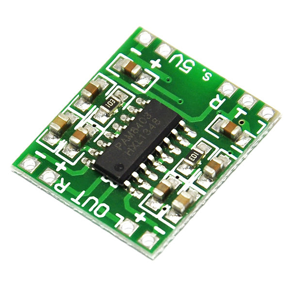 PAM8403 Mini Digital Power Amplifier Board Class D 2*3W