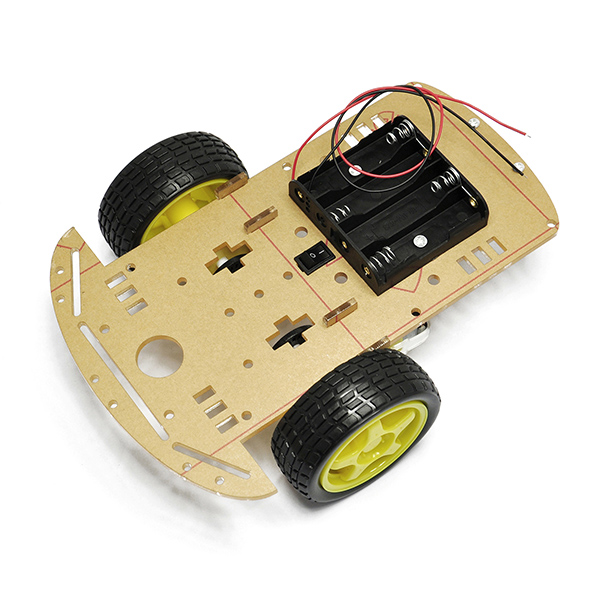 2WD Smart Robot Car Chassis Kit/Speed encoder Battery Box