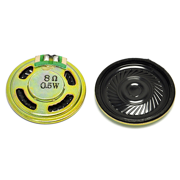 2pcs 8ohm 0.5W Woofer D36mm Speaker Loudspeaker