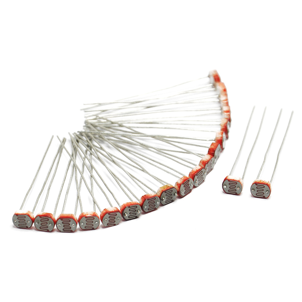 20PCS Photoresistor GL5516 LDR Photo Resistors Light-Dependen​t