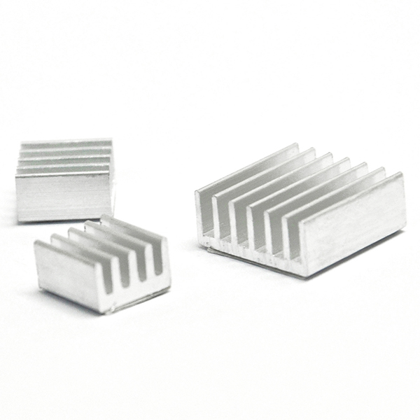 3pcs One Set Adhesive Aluminum Heatsink Cooler Kit