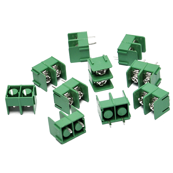10PCS New KF7.62-2P 2pin 7.62mm pitch Screw Terminal Block