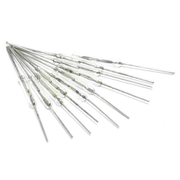 10pcs Reed switch 2 * 14mm Normally open Magnetic switch