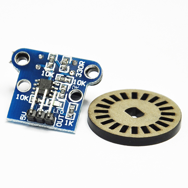 H206 Speed Measuring Sensor Module + Photoelectric Encoders Kit