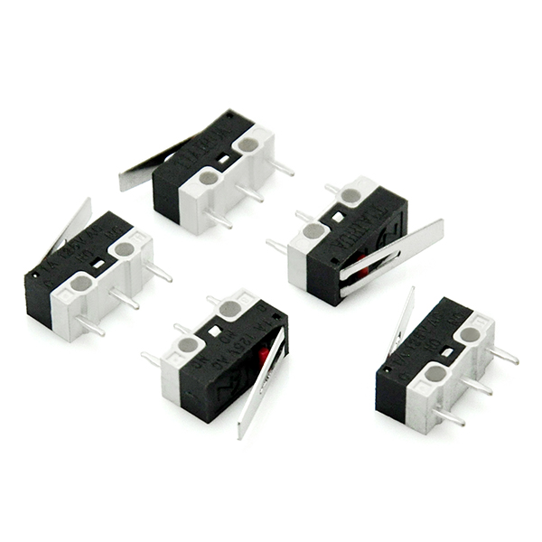 Good Micro Switch Long Hinge Lever for Arduino (Pack of 20pcs)