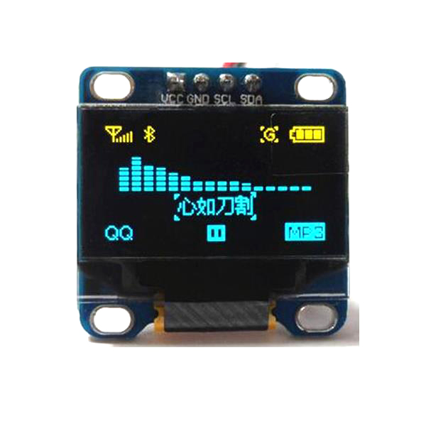 "0.96"" Yellow Blue I2C IIC Serial 128X64 OLED LCD LED"
