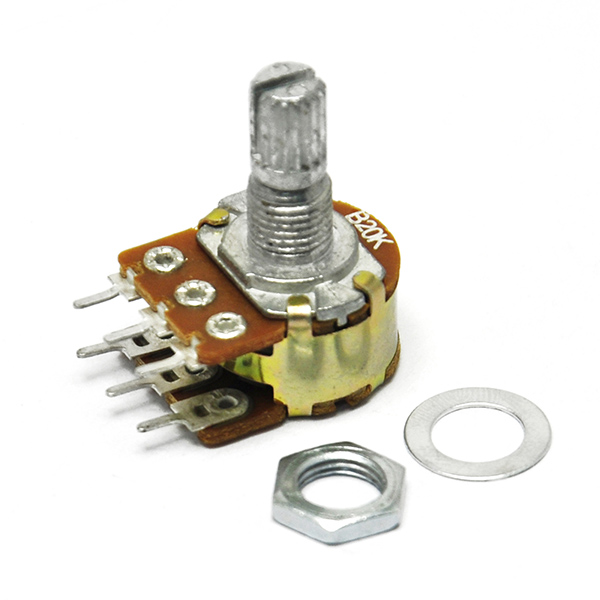 20K OHM Linear Dual Taper Rotary Potentiometers B20K