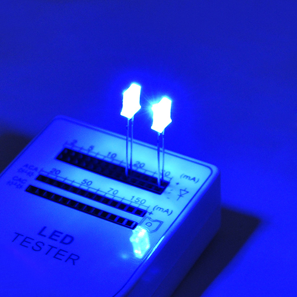 50PC 2x5x7mm LED Diodes Water Clear Blue Light Rectangular