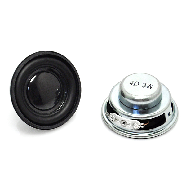 "2pcs 1.5"" 4Ohm 3W Full Range Audio Speaker Stereo Woofer"