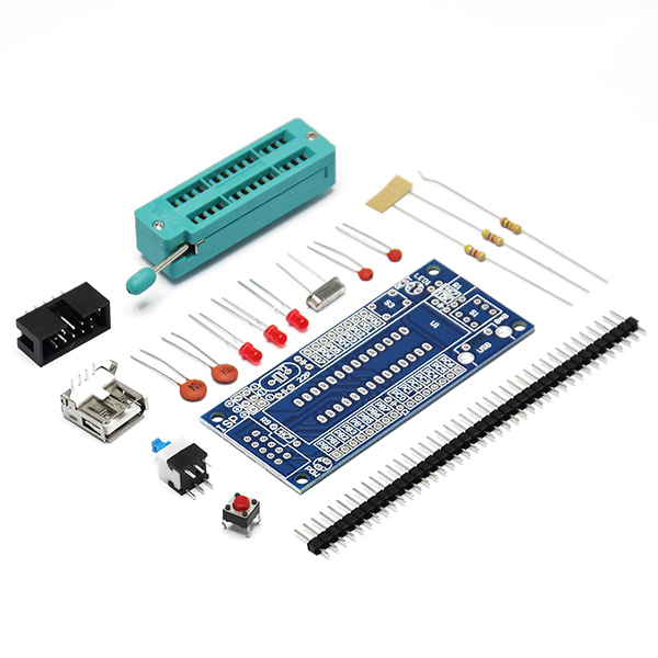 ATMEGA8 ATMEGA48 ATMEGA88 Development Board DIY Kit (NO Chip)