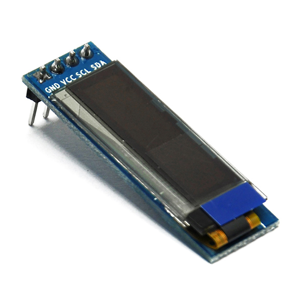 "0.91"" 128*32 OLED White LCD Display Module IIC I2C for Arduino"