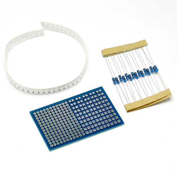 DIY SMD Components Welding Practice Board Solder Skill Training