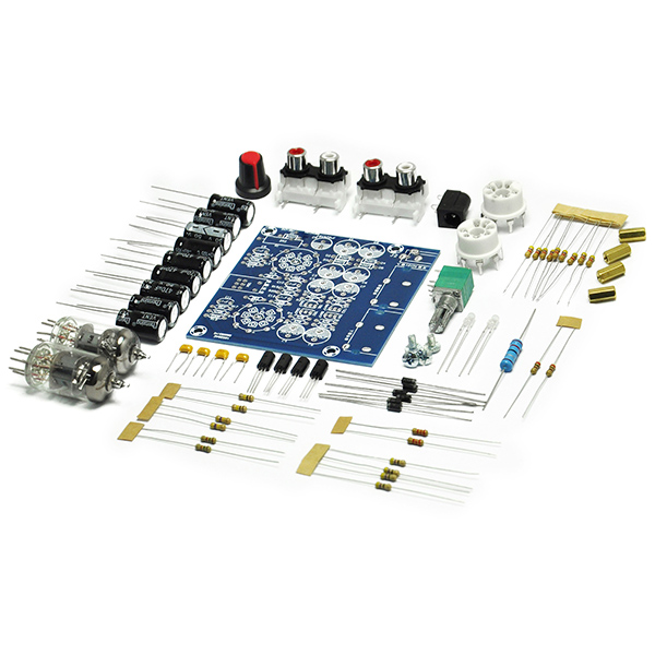 6J1 Tube Preamplifier Board 2.0 Stereo Multiple Diy Kit