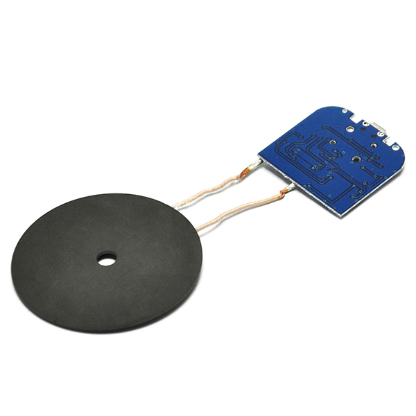 Qi Wireless Charger PCBA Circuit Board Coil Micro USB Port DIY