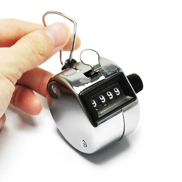 Golf Hand Held Tally 4-Digit Number Clicker Sport Counter Record