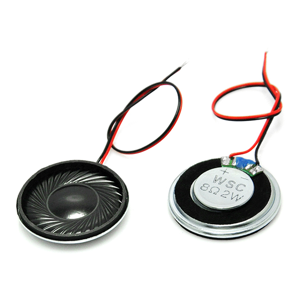 Round Micro Speaker Diameter 30mm 8Ohm 8R 2W for Arduino
