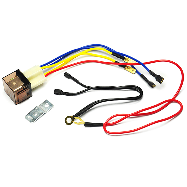 12V Horn Wiring Harness Relay Kit For Car Truck Horns Speakers