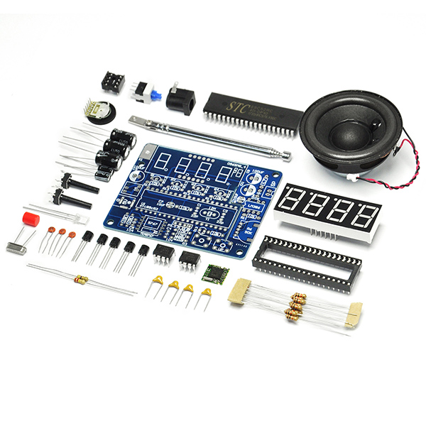 TEA5767 Mini Stereo FM Radio Module with Horn 87-108MHZ