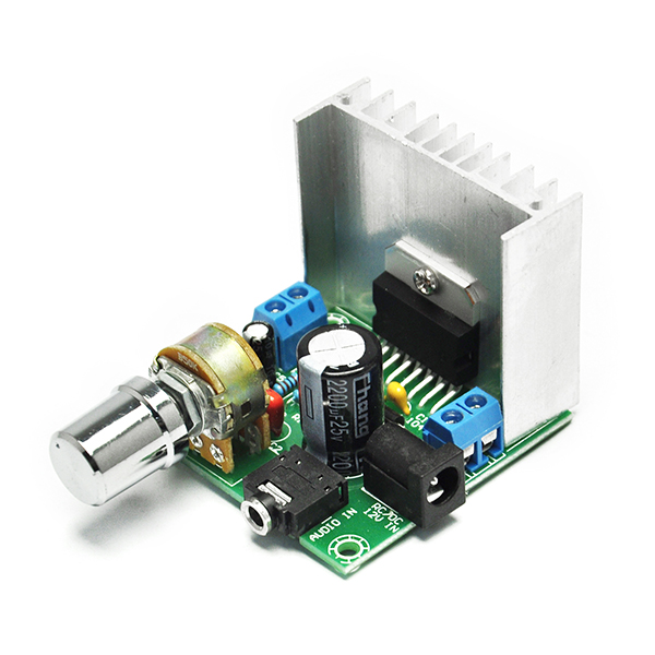 Digital Stereo Audio Amplifier Board A and 12V 2A Power Supply