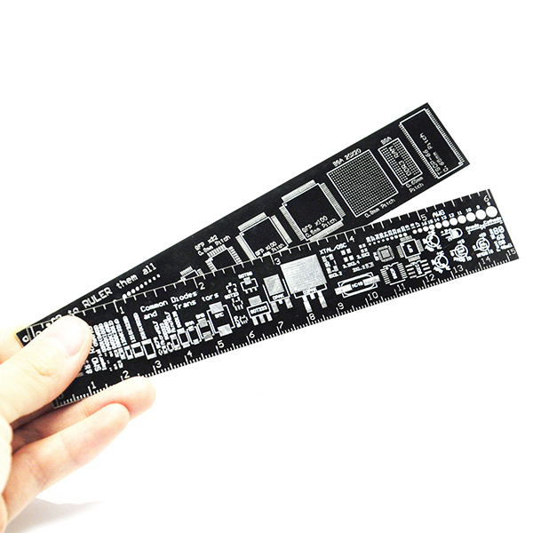 Reference PCB Ruler 6 Inch 15cm DIY Kit Measuring Tool