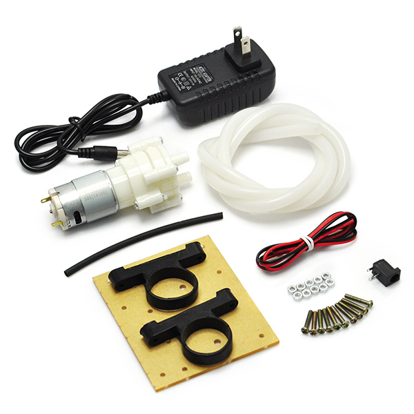 R385 Mini Aquarium Pump Fish Tank Motor DIY kit
