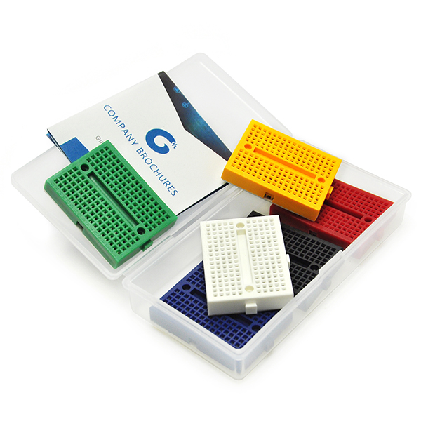 170 Tie-points Mini Breadboard Solderless Prototype DIY Kit