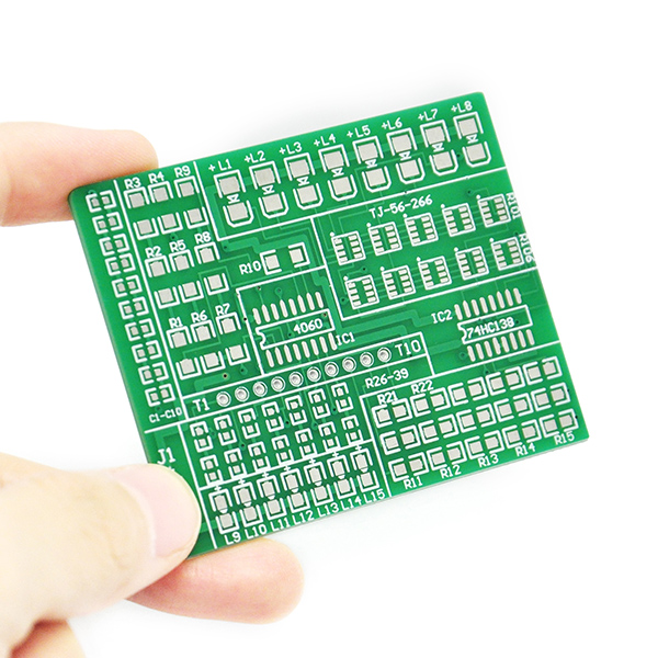 SMD SMT Components Solder Kit Practice PCB Board Electric Led
